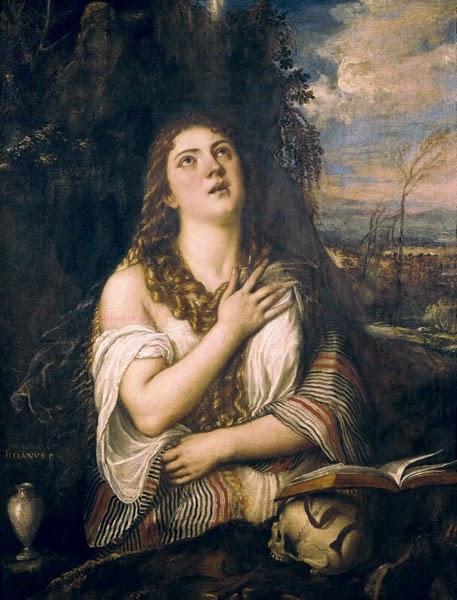 Mary Magdalene in Penitence - EL GRECO 1577